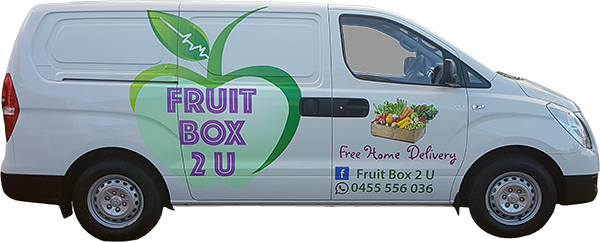 FruitBox2U Delivery van